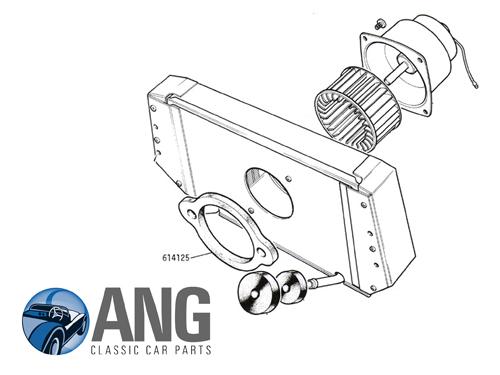 heater box to plenum chamber foam seal   gt6