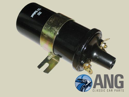 Antique Car Ignition Coil : Ballasted ignition coil v midget ang classic