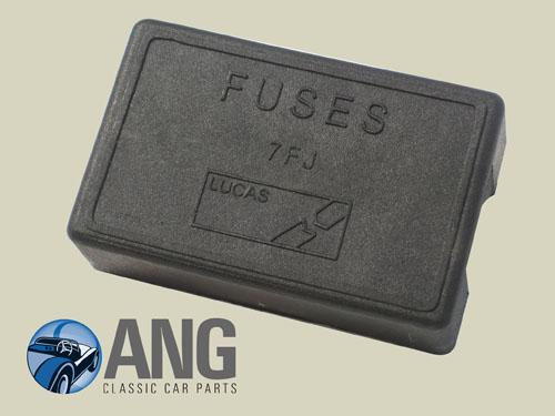 lucas fuse box lid 7fj jensen interceptor mkiii ang classic close up lucas fuse box