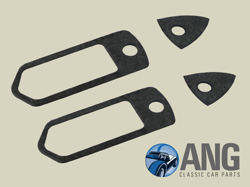 EXTERNAL DOOR HANDLE GASKETS x 4 ; MIDGET MkII, III & MIDGET 1500