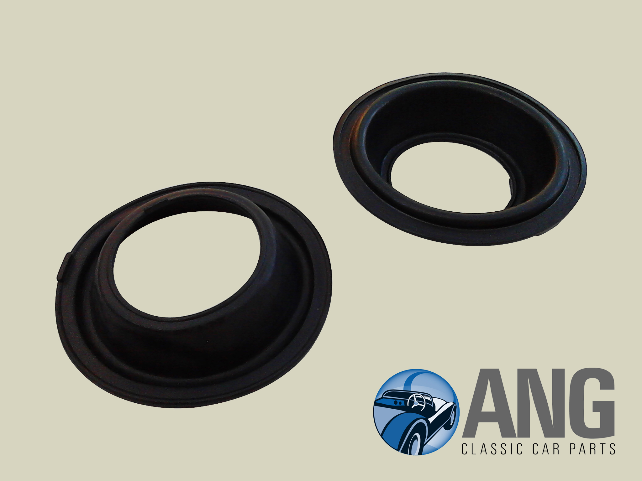 CARBURETTOR DIAPHRAGMS (2) ; E-TYPE SERIES I, II & III