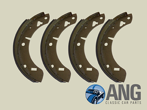 REAR BRAKE SHOE SET ; MGB, MGB-GT '62-'80, MGB-GT V8