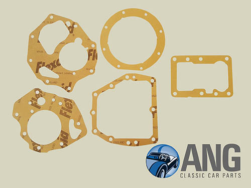 MANUAL GEARBOX GASKET KIT (3 SYNCHRO OVERDRIVE) ; MGB, MGB-GT '62-'67
