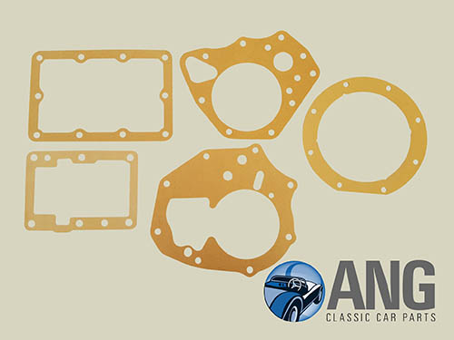 MANUAL GEARBOX GASKET KIT (4 SYNCHRO + OVERDRIVE) ; MGB, MGB-GT '67-'80