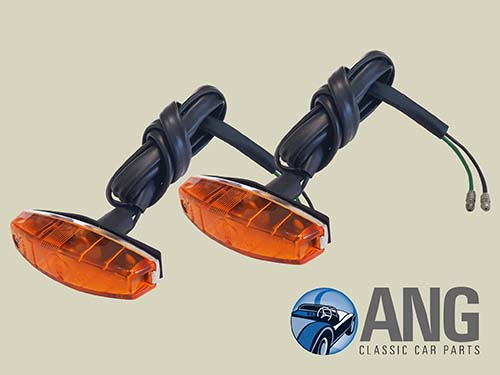 FRONT WING SIDE INDICATOR LAMPS x 2 ; XJ6, XJ12 SERIES 3