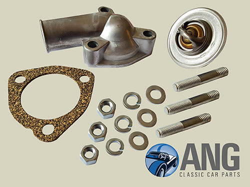 THERMOSTAT REPLACEMENT KIT ; MGB, MGB-GT '62-'67