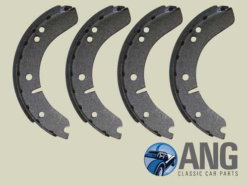 BRAKE SHOES (AXLE SET) ; MGA 1500, 1600 & 1600 MkII