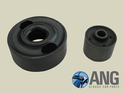 REAR RADIUS ARM BUSHES (1 SMALL, 1 LARGE) ; XJS '76-'92