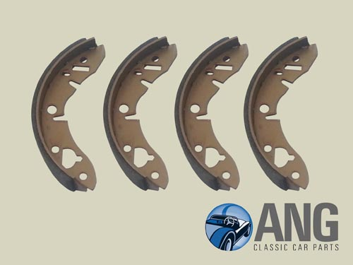 BRAKE SHOE SET (REAR) ; SPRITE & MIDGET '64-'79