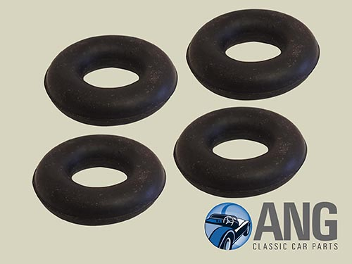 EXHAUST MOUNTING RUBBER RINGS x 4 ; E-TYPE 5.3 V12 SERIES 3