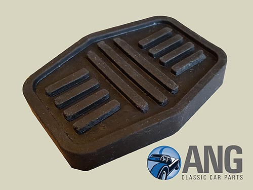 PEDAL RUBBER PAD (BRAKE OR CLUTCH)  ; LEYLAND, LDV SHERPA VAN '82-'89