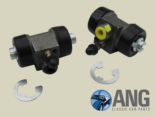 REAR WHEEL BRAKE CYLINDERS (PAIR) ; MIDGET 1500
