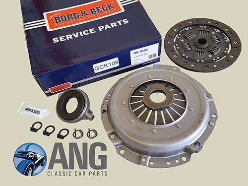 3-PIECE CLUTCH KIT (BORG & BECK) ; MGB, MGB-GT (1800cc)