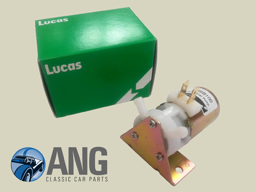 12v WINDSCREEN WASHER PUMP (LUCAS) ; MGB, MGB-GT '76-'80
