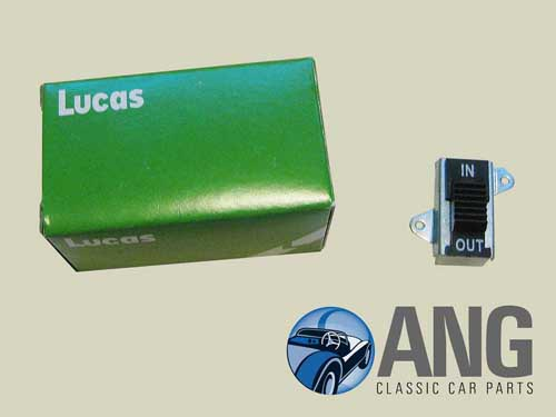 LUCAS OVERDRIVE SWITCH ; JAGUAR XJ6, XJ12 '68-'79 (MANUAL)