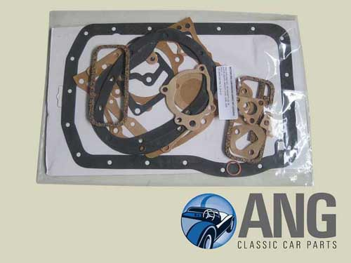 ENGINE BOTTOM END GASKET SET ; MGA