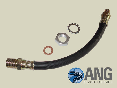 CLUTCH HOSE & FITTINGS ; MG MIDGET MkIII '66-'74