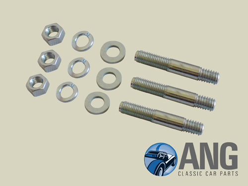 THERMOSTAT HOUSING STUD & NUT KIT ; MGB, MGB-GT '64-'80