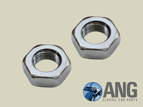 TRACK ROD END LOCK NUTS (PAIR) ; MGB, MGB-GT