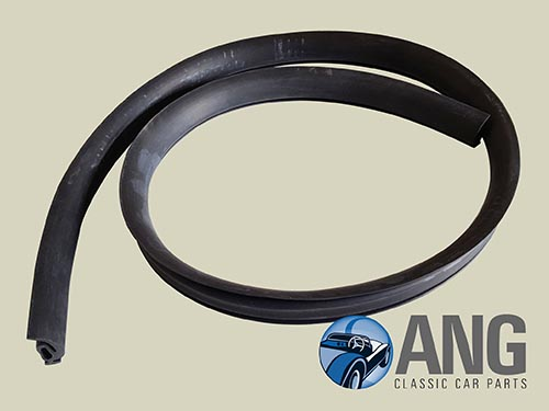 WINDSCREEN FRAME TO BODY RUBBER SEAL ; SPRITE MkI & II, MIDGET MkI