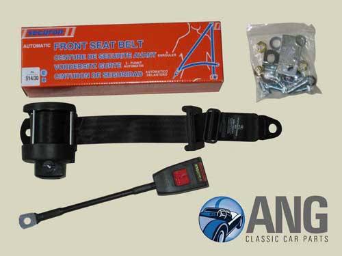 SECURON 3-POINT INERTIA FRONT SEATBELT KIT ; JENSEN HEALEY