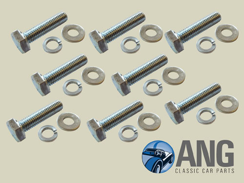 Seat Rails Runners Fitting Bolt Kit Spitfire Mkiv 1500 Ang