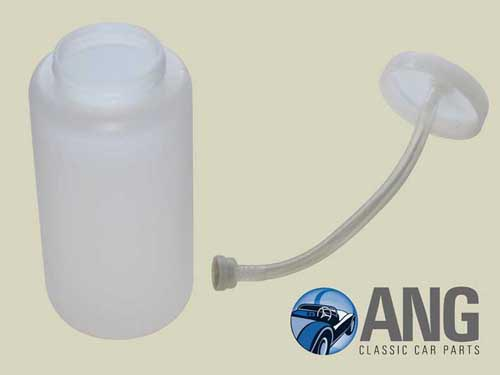 WINDSCREEN WASHER BOTTLE & CAP ; MGB, MGB-GT '62-'73