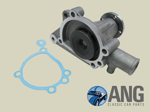 Classic Mini Water Pump GWP132 With Bypass A Series Small Impellor inc Gasket